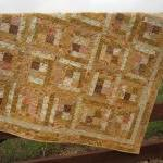 Handmade Quilt Peaches and ..