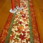 Autumn Blaze Quilted Table ..