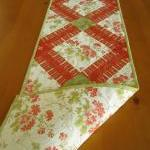Quilted Table Runner Bouque..