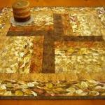 Golden Table Topper
