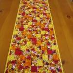 Quilted Table Runner Blosso..