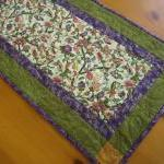 Quilted Table Runner Floral..